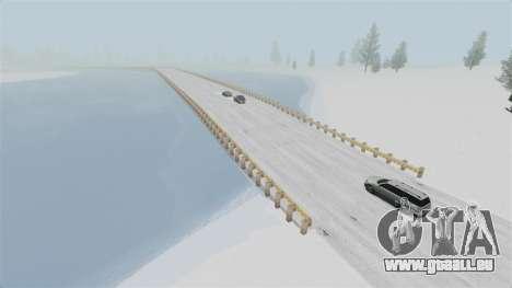 Emplacement de Wonderland Arctique pour GTA 4 troisième écran