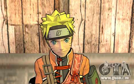 Naruto Rajdžinu pour GTA San Andreas troisième écran