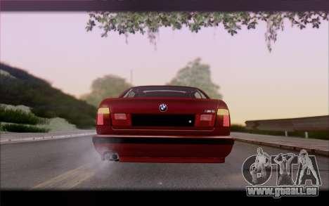 BMW E34 für GTA San Andreas Seitenansicht