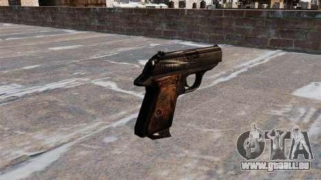 Ladewagen Pistole Walther PPK für GTA 4 Sekunden Bildschirm
