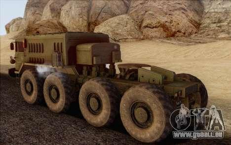 MAZ 535 pour GTA San Andreas laissé vue