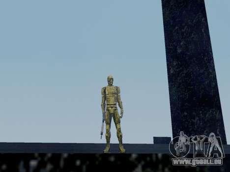 Nano-combinaison coréen de Crysis pour GTA San Andreas deuxième écran