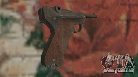 Luger pour GTA San Andreas deuxième écran
