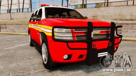 Chevrolet Tahoe Fire Chief v1.4 [ELS] pour GTA 4