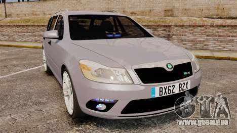 Skoda Octavia RS Unmarked Police [ELS] pour GTA 4