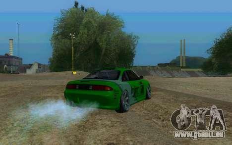 Nissan Silvia S14a pour GTA San Andreas laissé vue