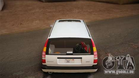 Volvo 850 Estate Turbo 1994 für GTA San Andreas Innen