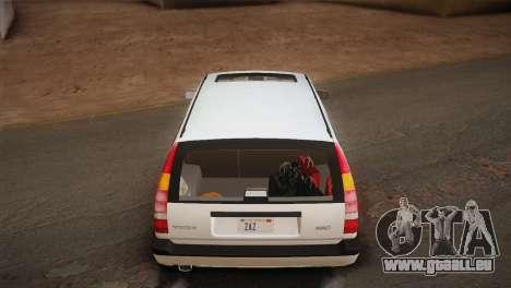 Volvo 850 Estate Turbo 1994 pour GTA San Andreas salon