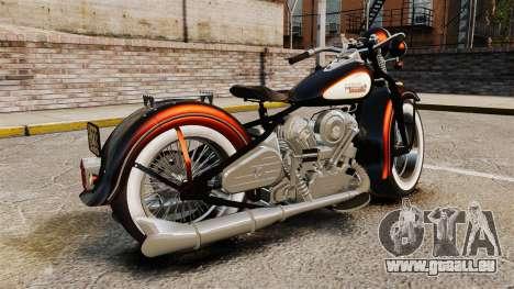Harley-Davidson Knucklehead 1947 für GTA 4 linke Ansicht