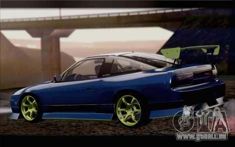 Nissan 240sx drift für GTA San Andreas linke Ansicht