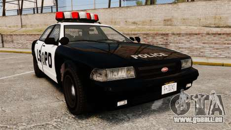 GTA V Vapid Police Cruiser LSPD für GTA 4