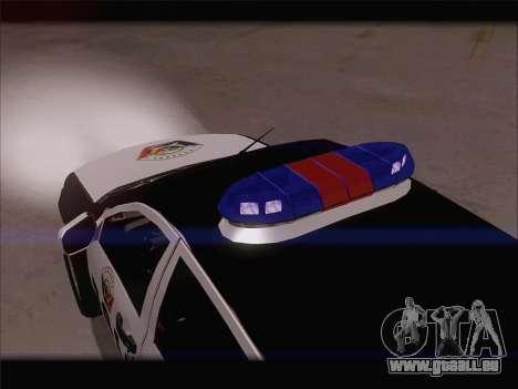 Mitsubishi L200 POLICIA für GTA San Andreas Seitenansicht