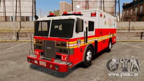 Hazmat Truck FDLC [ELS] pour GTA 4