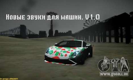 Neue Klänge von Maschinen V 1.0 für GTA 4