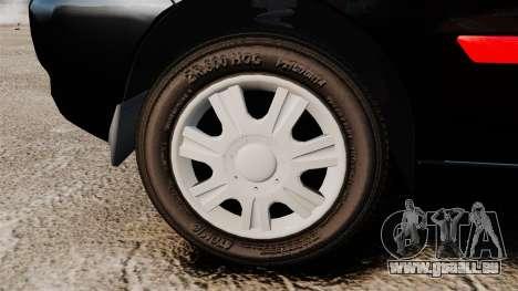 FSO Lanos Plus 2007 Limited Version pour GTA 4 Vue arrière