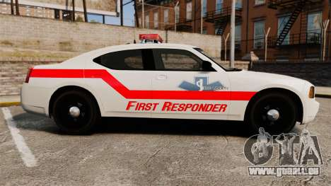 Dodge Charger First Responder [ELS] für GTA 4 linke Ansicht