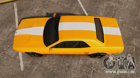 GTA V Gauntlet 450cui Turbocharged für GTA 4 rechte Ansicht