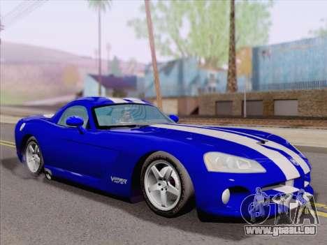 Dodge Viper SRT-10 Coupe pour GTA San Andreas