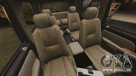 Chevrolet Tahoe Fire Chief v1.4 [ELS] pour GTA 4 est une vue de l'intérieur