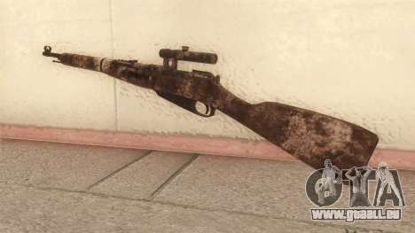 Mosin-Nagant pour GTA San Andreas deuxième écran