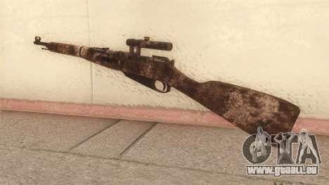 Mosin-Nagant für GTA San Andreas zweiten Screenshot