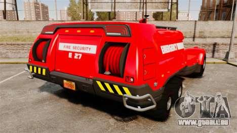 Pro Track SR2 Firetruck [ELS] für GTA 4 hinten links Ansicht