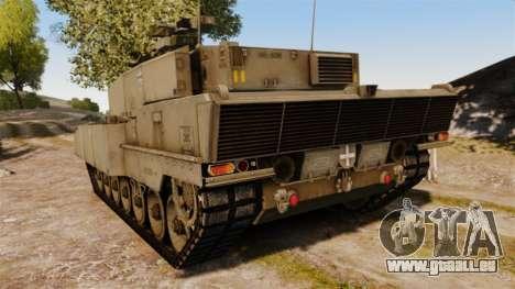 Leopard 2A7 für GTA 4 hinten links Ansicht
