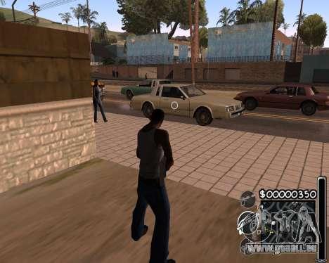 C-HUD by 6a6yuH pour GTA San Andreas deuxième écran