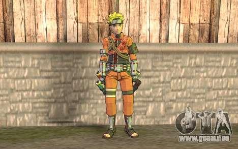 Naruto Rajdžinu pour GTA San Andreas