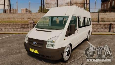 Ford Transit Passenger pour GTA 4