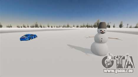 Emplacement de Wonderland Arctique pour GTA 4 secondes d'écran