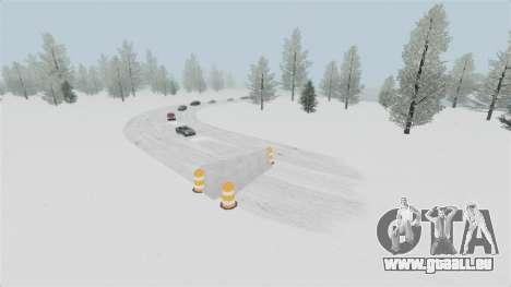 Emplacement de Wonderland Arctique pour GTA 4 quatrième écran