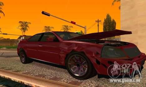 Presidente de GTA IV pour GTA San Andreas sur la vue arrière gauche