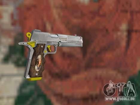 Ebony pour GTA San Andreas deuxième écran