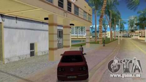 Volkswagen Passat 2007 für GTA Vice City zurück linke Ansicht