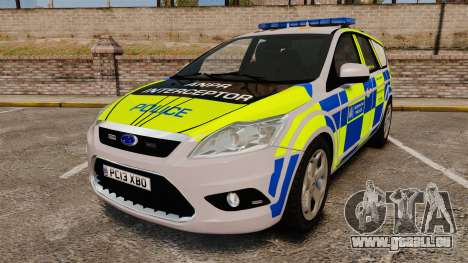 Ford Focus Estate Metropolitan Police [ELS] für GTA 4