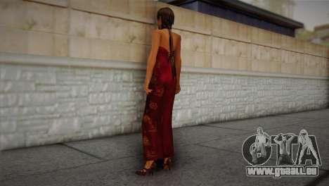 Ada Wong pour GTA San Andreas deuxième écran