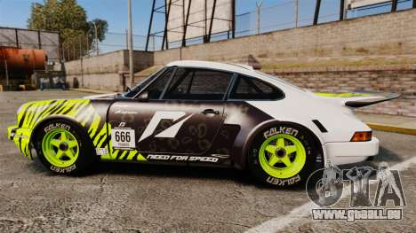 Porsche 911 Carrera RSR 1974 Rival pour GTA 4 est une gauche