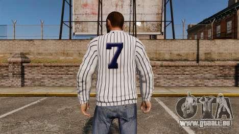 Pullover-New York Yankees - für GTA 4 Sekunden Bildschirm