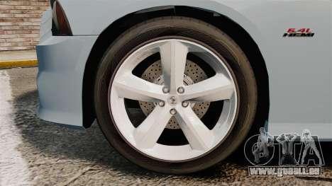 Dodge Charger 2012 für GTA 4 Rückansicht