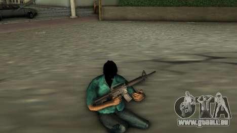 M4 Carbine für GTA Vice City dritte Screenshot