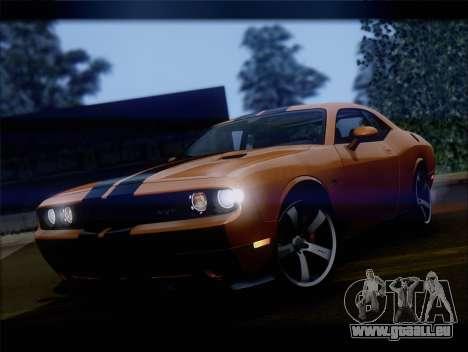 Dodge Challenger SRT8 2012 HEMI für GTA San Andreas linke Ansicht