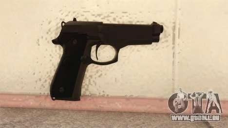 Beretta 92 FS pour GTA San Andreas deuxième écran