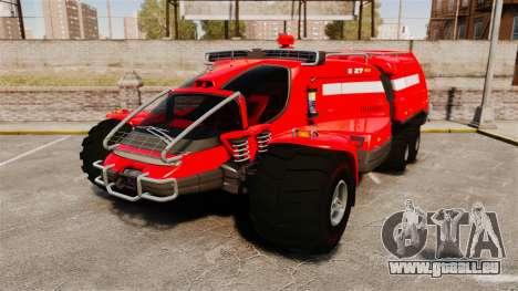Pro Track SR2 Firetruck [ELS] für GTA 4