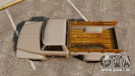 Hot Rod Truck Gas Monkey v2.0 für GTA 4 rechte Ansicht