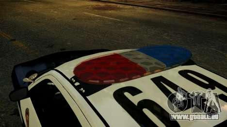Dodge Charger LAPD 2008 für GTA 4 Rückansicht