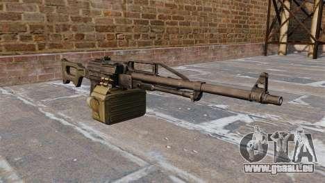 Universelle Maschine Gewehr 6P 41 für GTA 4