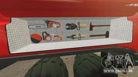 Pro Track SR2 Firetruck [ELS] für GTA 4 Unteransicht