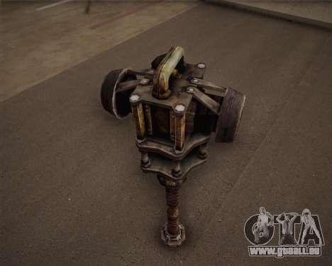 Mutant bat de Fallout 3 pour GTA San Andreas troisième écran