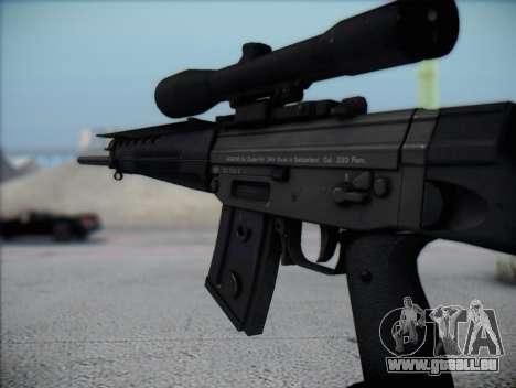 Fusil de sniper HD pour GTA San Andreas quatrième écran